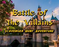 Disneyland Scavenger Hunt - Battle of the Villains